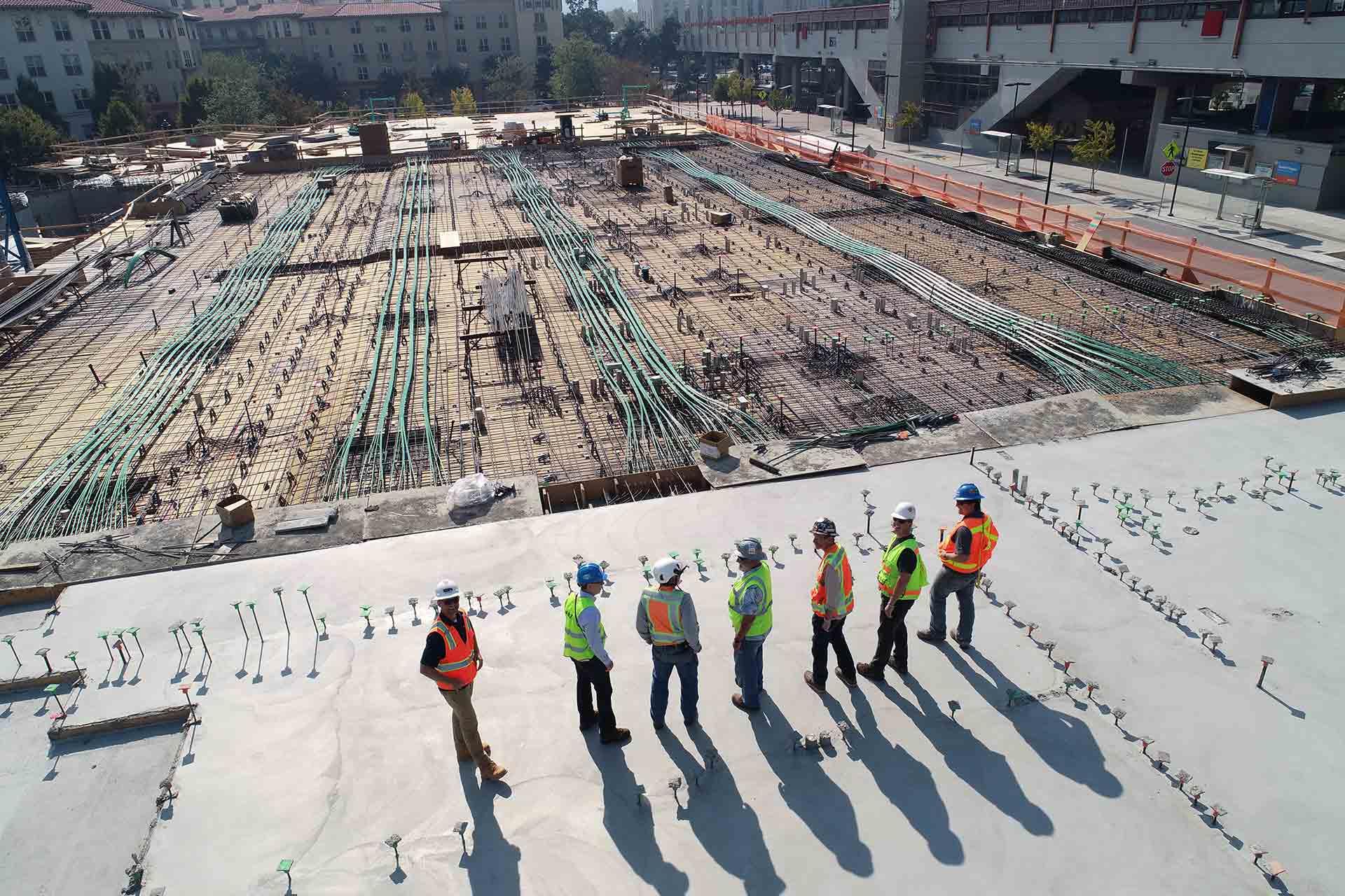 Statutory Warranties group of workers on site
